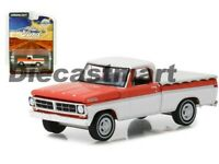 Greenlight 1:64 Hobby Exclusive 1971 Ford F-100 with Bed Cover 29957 Red White