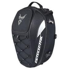 MOTOCENTRIC Waterproof Motorcycle Tail Bag Multi-Functional Durable Rear Mo U7V8