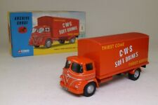 Corgi 13602; Foden S21 Mickey Mouse 4w Box Van, CWS Soft Drinks; Excellent Boxed