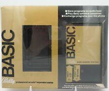 BALLY BASIC AUDIO CASSETTE INTERFACE w/ Box (Astrocade, 1978) Untested