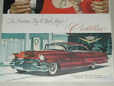 1956 Cadillac advertisement, Sedan De Ville as Christmas Present