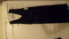 woman plus size clothes - 16 W - NAVY BLUE EVENING DRESS