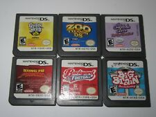 Nintendo DS Lot Of 6 Games