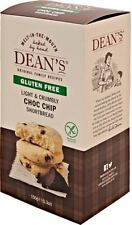 Deans  Choc Chip Gluten Free Shortbread 150g (Pack of 6)
