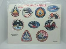 NASA original Space Shuttle Decals Stickers RARE