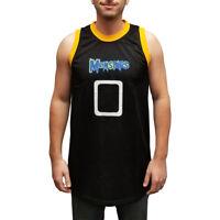 Monstars 0 Basketball Jersey Space Jam Movie Alien Uniform Costume Monsters Gift