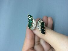 Handmade Ottoman Turkish Arabic 925 silver emerald high quality adjustable