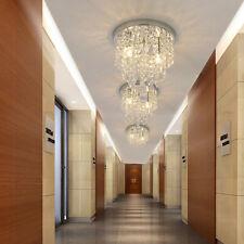 Crystal Chandelier Lighting 2 Lights Flush Mount Ceiling Light Chandelier US