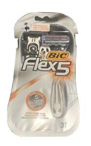 BIC Flex5 Uomo rasoi usa e getta-confezione da 3 Rasoi