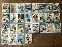 1983 PITTSBURGH PIRATES Topps COMPLETE Baseball Team Set 28 Cards PARKER TEKULVE