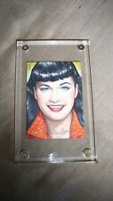 BETTIE PAGE PRIVATE COLLECTION VERONICA O'CONNELL ORIGINAL ART SKETCH CARD #1/25