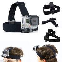 Elastic Adjustable Head Harness Belt Strap Band Mount for Gopro HD Hero 1 2 3+ 4