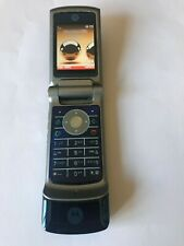 Motorola KRZR K1 - Blue Flip Phone Locked to Vodafone