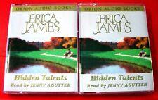 Erica James Hidden Talents 4-Tape Audio Book Jenny Agutter