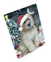 Have a Holly Jolly Wheaten Terrier Dog Christmas Cutting Board C59301