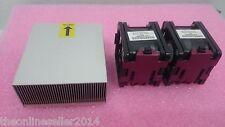 HP DL380 G7 cpu upgrade kit-dissipateur de chaleur et 2 ventilateurs 496066-001 496064-001