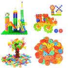 128Pcs Kids Multicolor Building Block Snowflake Creative Educational Xmas Toys