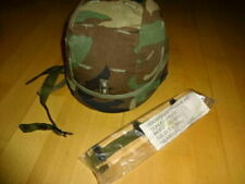 US ARMY HELMET PASGT OFFICER ARMOR WOODLAND XS HELM FLAG BDU SPECIAL FORCES DCU