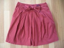 PORTMANS WOMENS TERRACOTTA PLEAT FRONT SKIRT SIZE 10