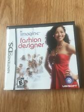Imagine Fashion Designer Nintendo DS NDS Cib Game XP2