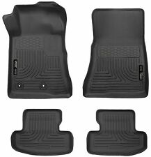 Husky Liners WeatherBeater Floor Mats - 4pc - 99371 - Ford Mustang 15-18 - Black