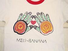 Vintage Melt Banana Grindcore concert Tour Japanese Japan RARE Ringer T Shirt S