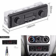 12V Fm Car Stereo Radio 1 Din In Dash Usb Aux Head Unit Mmc Wma Player Universal