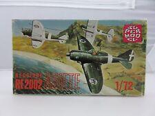 Super Model REGGIANE RE2002 ARIETE 1/72 Scale Plastic Model Kit UNBUILT