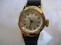 NOS NEW VINTAGE MECHANICAL HAND-WINDING ST STEEL EDELE ANALOG WOMEN'S WATCH 1960