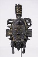 AC7 Senufo alte afrikanische Kpelye Maske / Masque Senoufo / Old tribal mask