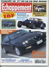 ECHAPPEMENT n°320 01/05/1995 Essai Course MITSUBISHI LANCER Evo III ALFA GTV V6