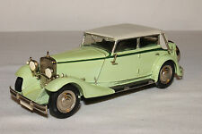 1932 Maybach Zeppelin Formal Touring Car, White Metal, Nice 1/43 Scale
