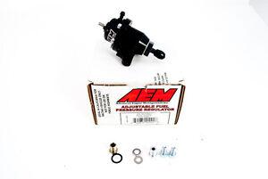 AEM Adjustable Fuel Pressure Regulator FPR Honda S2000 Civic Accord CL 25-301BK