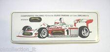 ADESIVO AUTO F1 anni '80 / Old Sticker FORMULA 3 GUIDO PARDINI (cm 17 x 6)