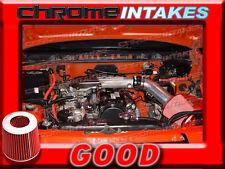 BLACK RED NEW 89 90 91-94 GEO TRACKER/SUZUKI SIDEKICK 1.6 1.6L AIR INTAKE KIT