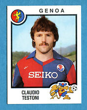 CALCIATORI PANINI 1982-83 Figurina-Sticker n. 119 - TESTONI - GENOA -New