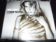 Melanie Mel C ( The Spice Girls ) I Turn To You Aust 6 Track Remixes CD Single