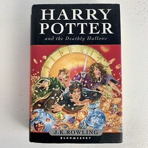 Harry Potter And The Deathly Hallows First Edition Hardback Dust Cover Jacket
