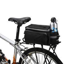 ROSWHEEL Cycling Bicycle Storage Handbag Pannier Saddle Rear Bike Bag + Cover