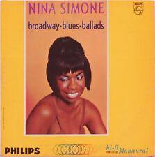 Nina SIMONE / Vinyl Record Broadway Blues Ballads 1964