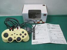 PlayStation -- ASCII PAD PINGU VERSION CLEAR off white -- PS1. PS2. JAPAN. 30532