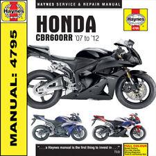 Manuales de motos CBR Honda