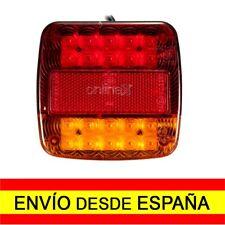 Luz LED para Señalización Remolques Coches Camiones Impermeable 12V a0492