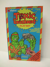 #746 Toxic Crusaders Play Set Colorforms 1991 Complete w/box+bklt