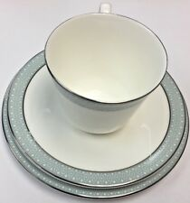 Royal Doulton 'Etude' Trio - Tea Cup, Saucer and Side Plate - Good Condition-UK