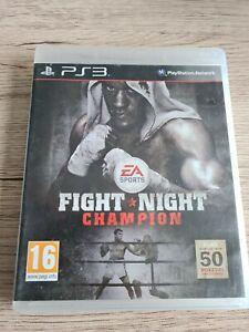 FIGHT NIGHT CHAMPION EA SPORTS JEU PLAYSTATION 3