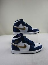 Pre-owned Air Jordan 1 High 'Gold Medal' Youth Shoes Size 6Y