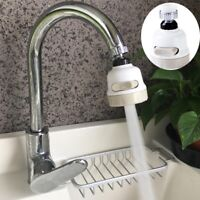 360° Rotatable Tap Head Water Saving Fliter Sprayer Movable Kitchen Faucet