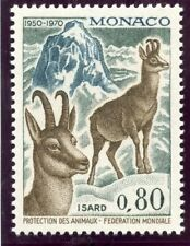 STAMP / TIMBRE DE MONACO N° 812 ** FAUNE / ISARD