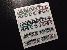 PEGATINAS  ABARTH ASSETO CORSE ECO39 FIAT 500 STICKERS AUFKLEBER AUTOCOLLANTS AD